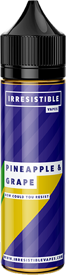 IRRESISTIBLE VAPES - Pineapple-grape