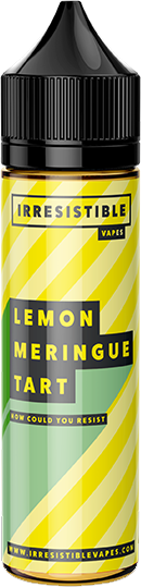 IRRESISTIBLE VAPES - Lemon-meringue-tart