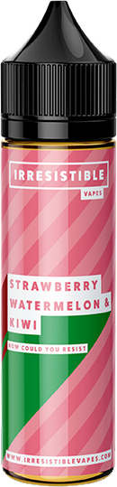 IRRESISTIBLE VAPES - Strawberry-watermelon-kiwi