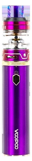VooPoo Caliber with UFORCE Sub-Ohm Tank Starter Kit - Purple