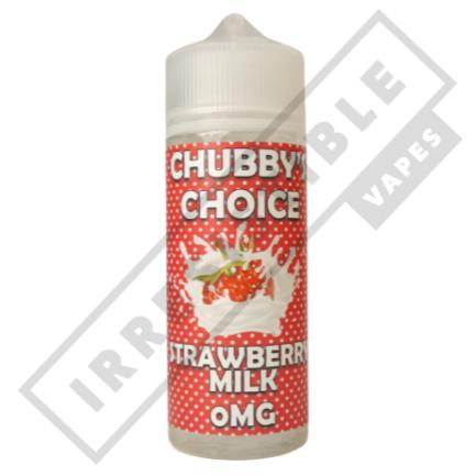 CHUBBY CHOICE 100ML - Strawberry-milk