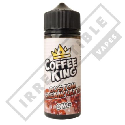COFFEE KING 120ML BOTTLE - Boston-cream-latte