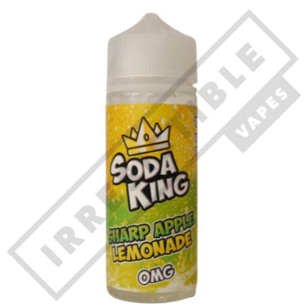 SODA KING 100ML - Sharp-apple-lemonade