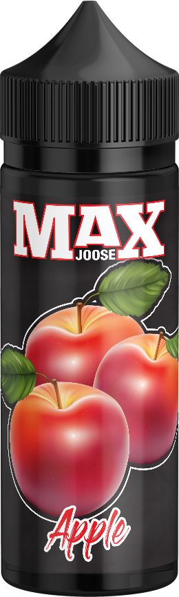 MAX JOOSE 100ml bottles - Apple