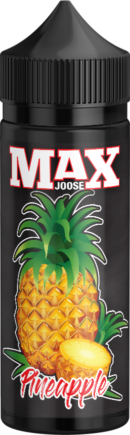 MAX JOOSE 100ml bottles - Pineapple