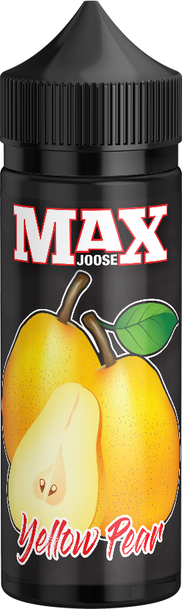 MAX JOOSE 100ml bottles - Yellow-pear