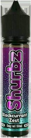 SHURBZ 50ml - Blackcurrent-zest