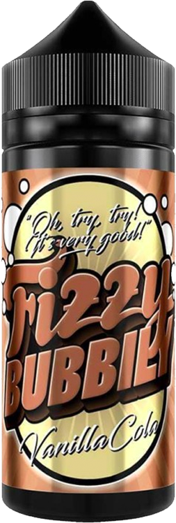 FIZZY BUBBILY ** 100ML ** - Vanilla-cola