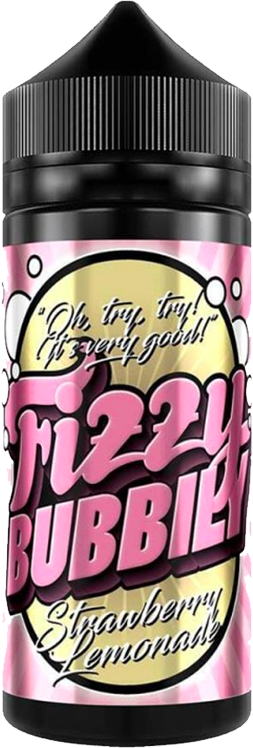 FIZZY BUBBILY ** 100ML ** - Strawberry-lemonade