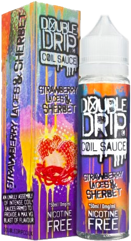 Double Drip - Strawberry-laces-sherbet