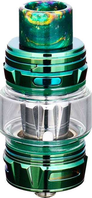 Falcon King Tank FREE BUBBLE GLASS - Green-3