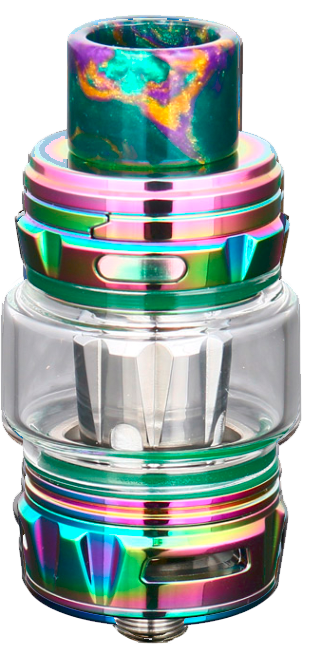 Falcon King Tank FREE BUBBLE GLASS - Stainless-steel
