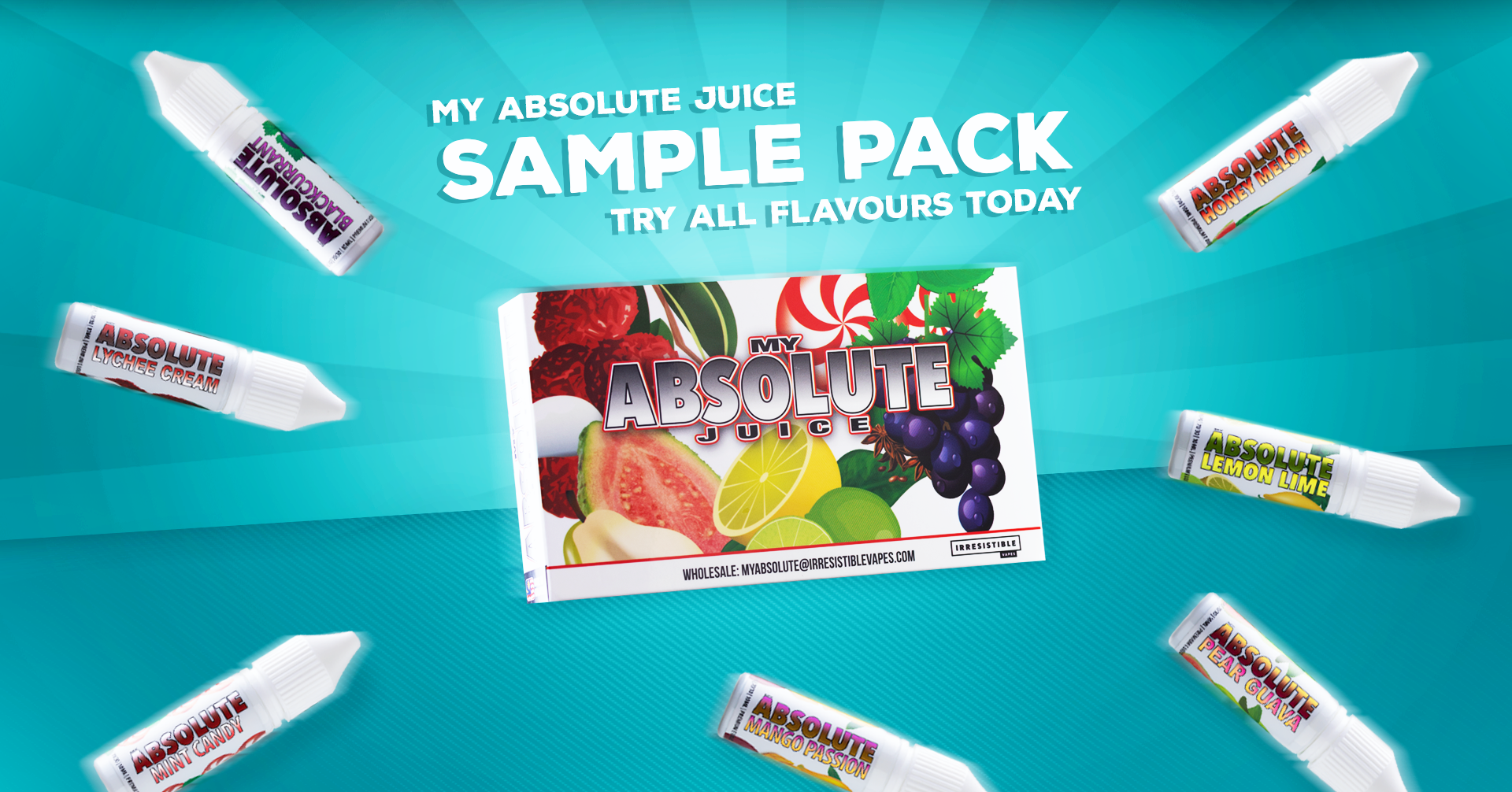 My Absolute Juice Sample Pack featured image