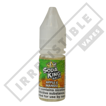 SODA KING SALTS £3.99 EACH OR 3 FOR £10 **USE DISCOUNT CODE 3FOR10** - Apple-and-mango