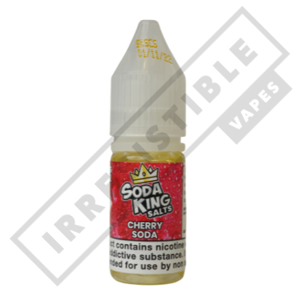 SODA KING SALTS £3.99 EACH OR 3 FOR £10 **USE DISCOUNT CODE 3FOR10** - Cherry-soda