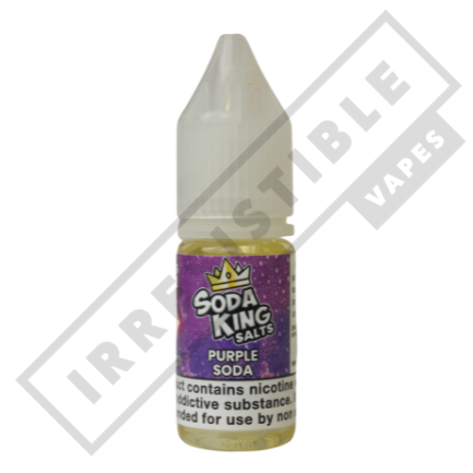 SODA KING SALTS £3.99 EACH OR 3 FOR £10 **USE DISCOUNT CODE 3FOR10** - Purple-soda