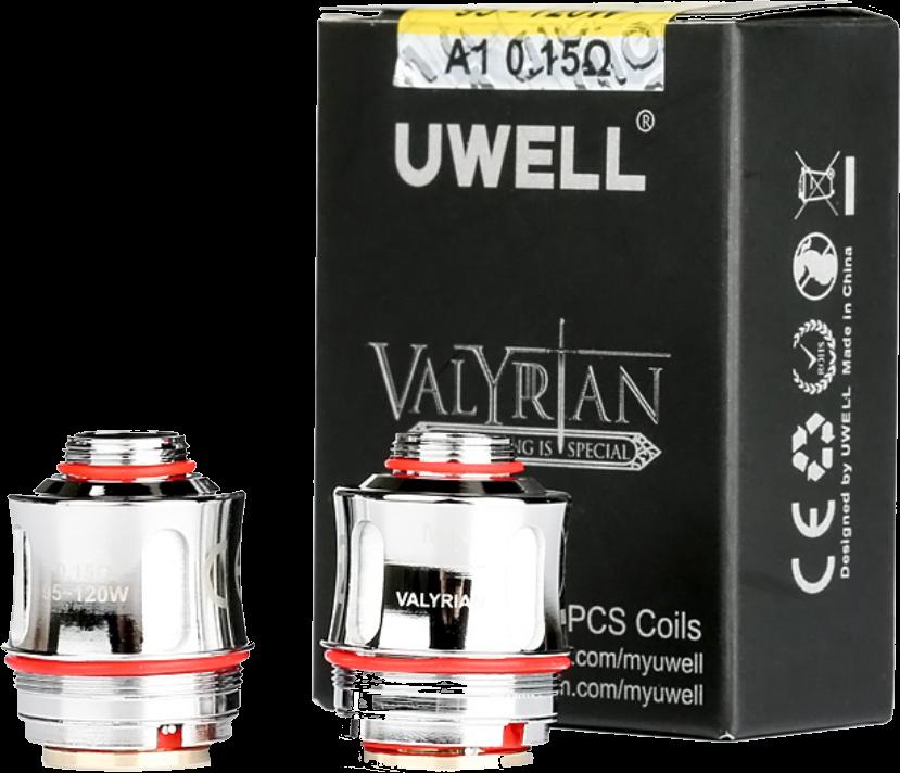 Uwell Valyrian II COILS - 0-15-ohm