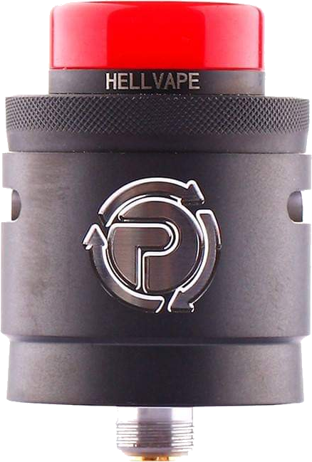 HELLVAPE X SUCK MY MOD PASSAGE RDA - Matte-full-black