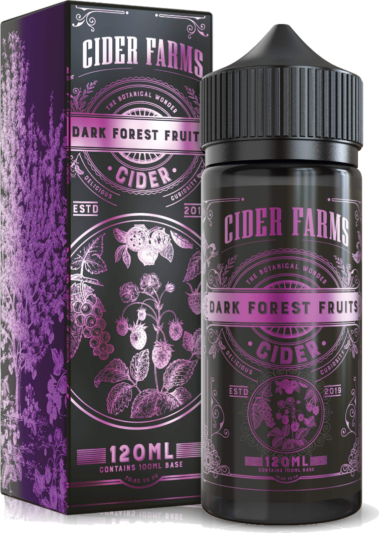 CIDER FARMS **120ML** - Dark-forest-fruits