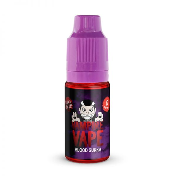 Vampire Vape 50/50 10mls 3 for £10 deal (USE DISCOUNT CODE 3for10 AT THE CHECKOUT) - Blood-sukka