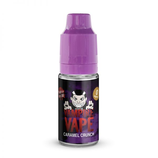 Vampire Vape 50/50 10mls 3 for £10 deal (USE DISCOUNT CODE 3for10 AT THE CHECKOUT) - Caramel-crunch
