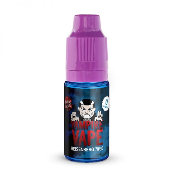 Vampire Vape 50/50 10mls 3 for £10 deal (USE DISCOUNT CODE 3for10 AT THE CHECKOUT) - Heisenberg