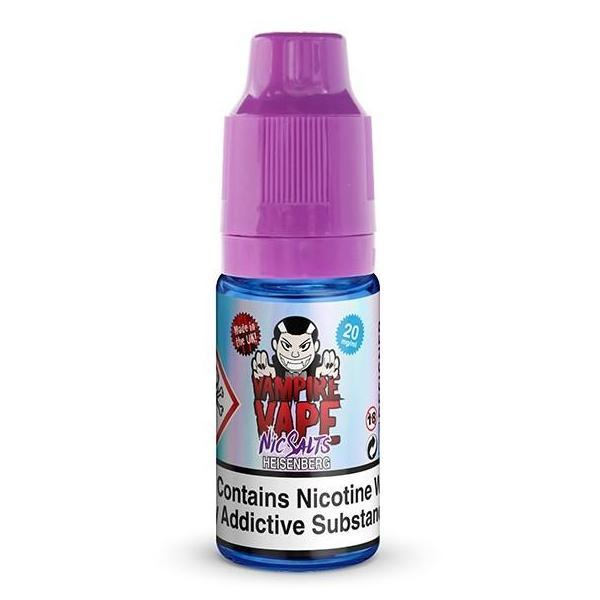 Vampire Vape Nic Salts £3.99 or 3 for £10 with discount code 3for10 - Heisenberg