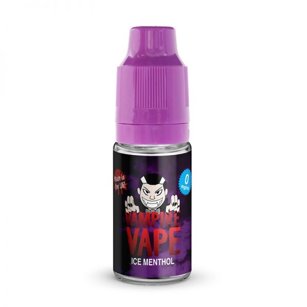 Vampire Vape 50/50 10mls 3 for £10 deal (USE DISCOUNT CODE 3for10 AT THE CHECKOUT) - Ice-menthol