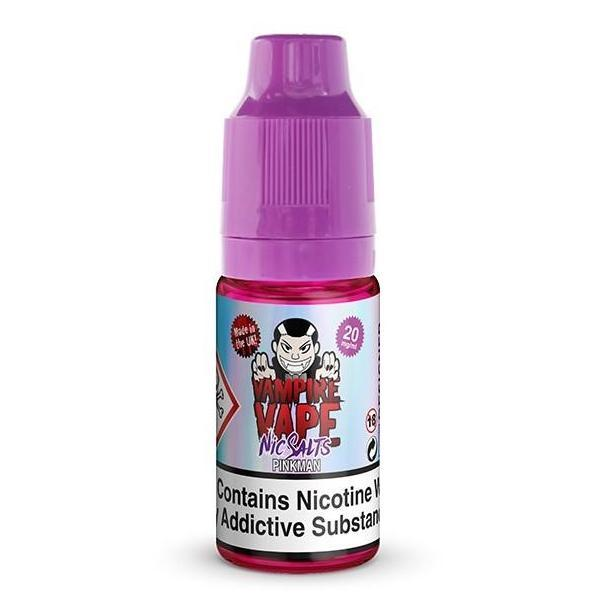 Vampire Vape Nic Salts £3.99 or 3 for £10 with discount code 3for10 - Pinkman