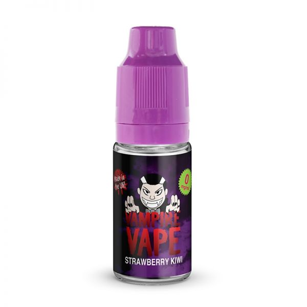 Vampire Vape 50/50 10mls 3 for £10 deal (USE DISCOUNT CODE 3for10 AT THE CHECKOUT) - Strawberry-kiwi