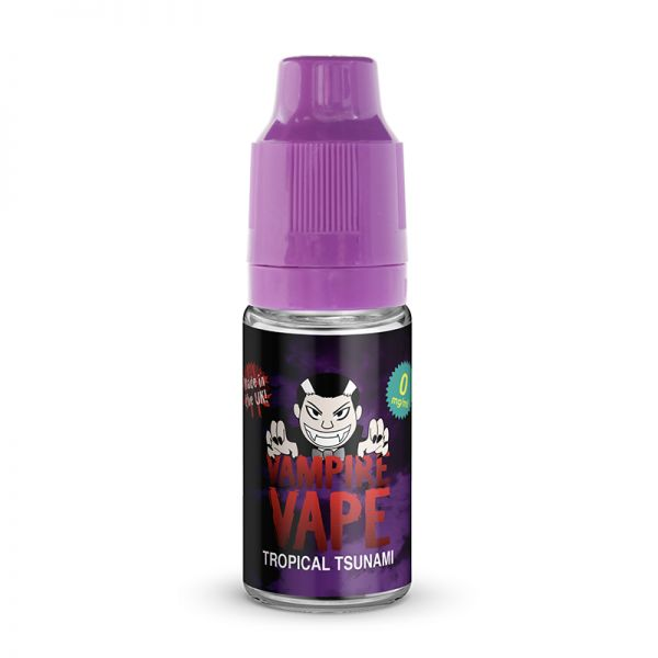 Vampire Vape 50/50 10mls 3 for £10 deal (USE DISCOUNT CODE 3for10 AT THE CHECKOUT) - Tropical-tsunami