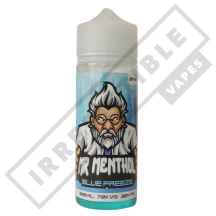 Mr Menthol 100ml Bottles - Blue-freeze