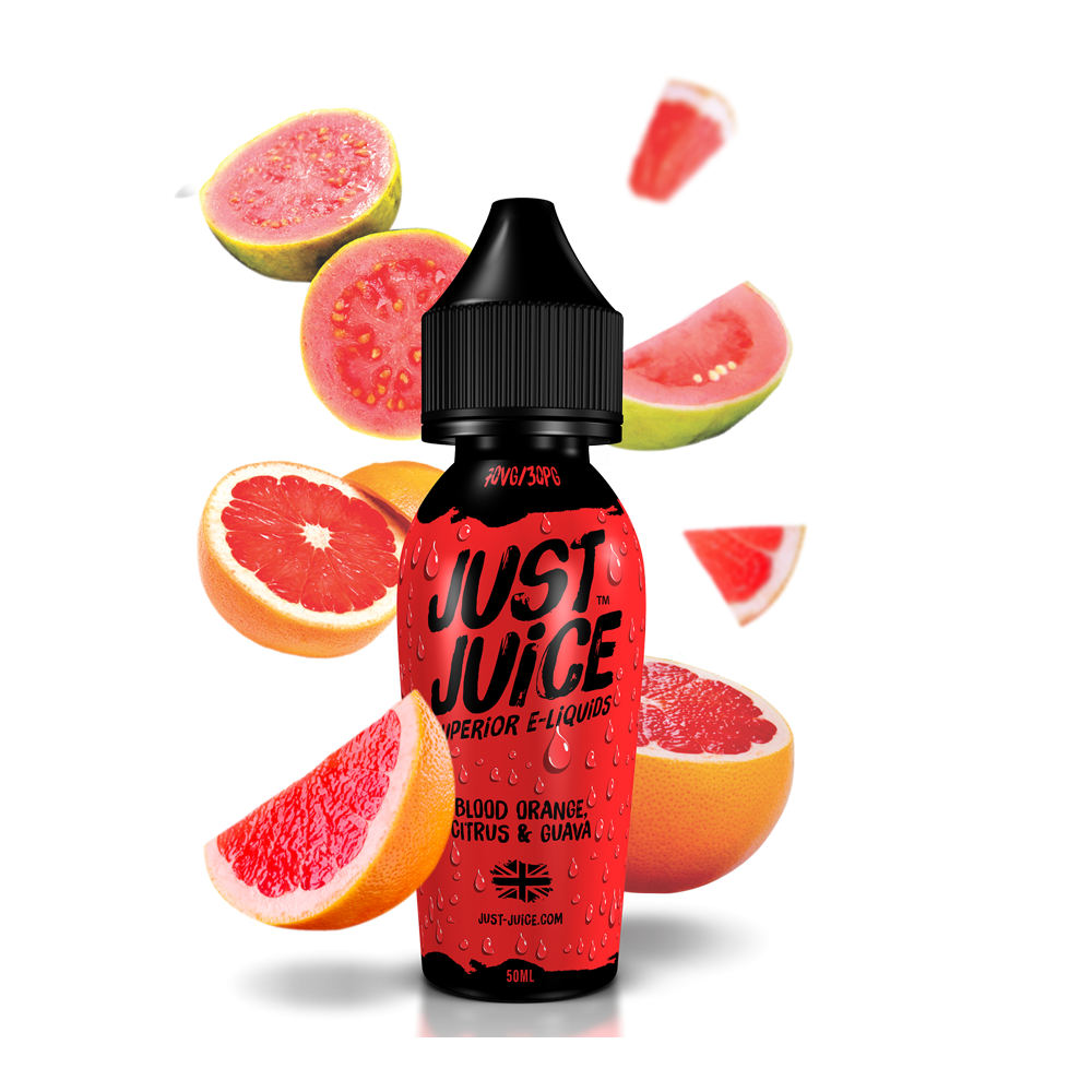 Just Juice 50ml Shortfill - Bloody-orange-citrus-and-guava