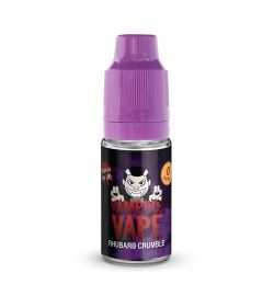 Vampire Vape 50/50 10mls 3 for £10 deal (USE DISCOUNT CODE 3for10 AT THE CHECKOUT) - Rhubarb-crumble