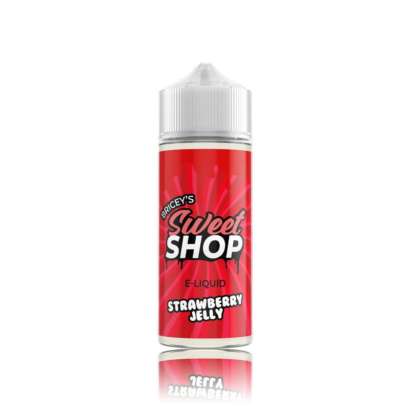 Bricey's Sweet Shop 120ml bottles - Strawberry-jelly