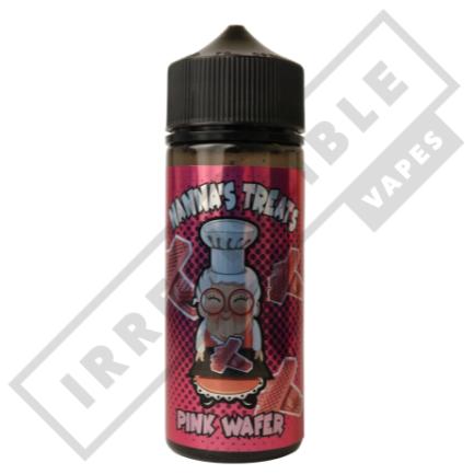 Nannas Treats 100mls - Pink-wafer