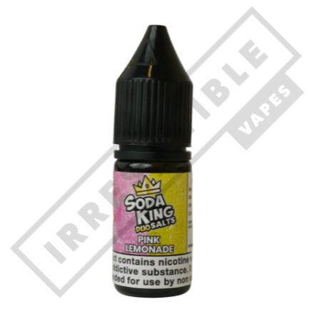 Soda king duo Nicotine salts £3.99 each or 3 for £10 (with discount code 3for10) - Pink-lemonade