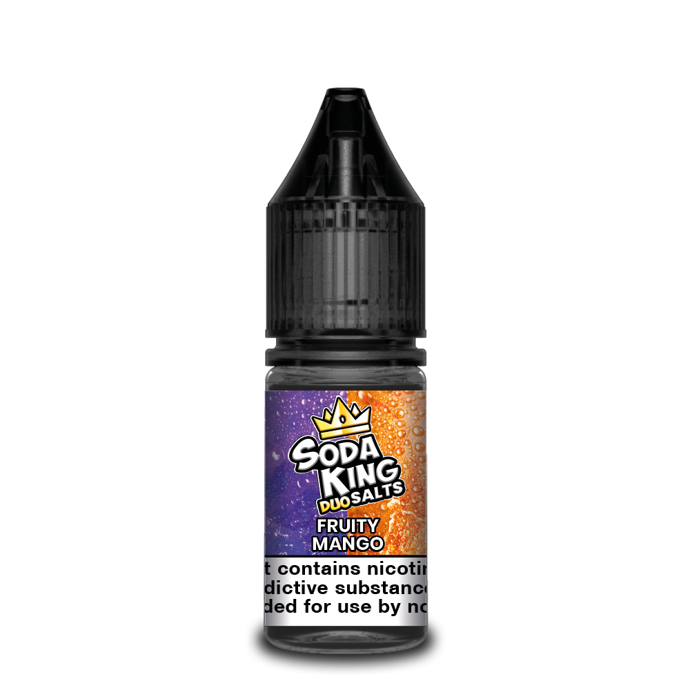 Soda king duo Nicotine salts £3.99 each or 3 for £10 (with discount code 3for10) - Fruity-mango