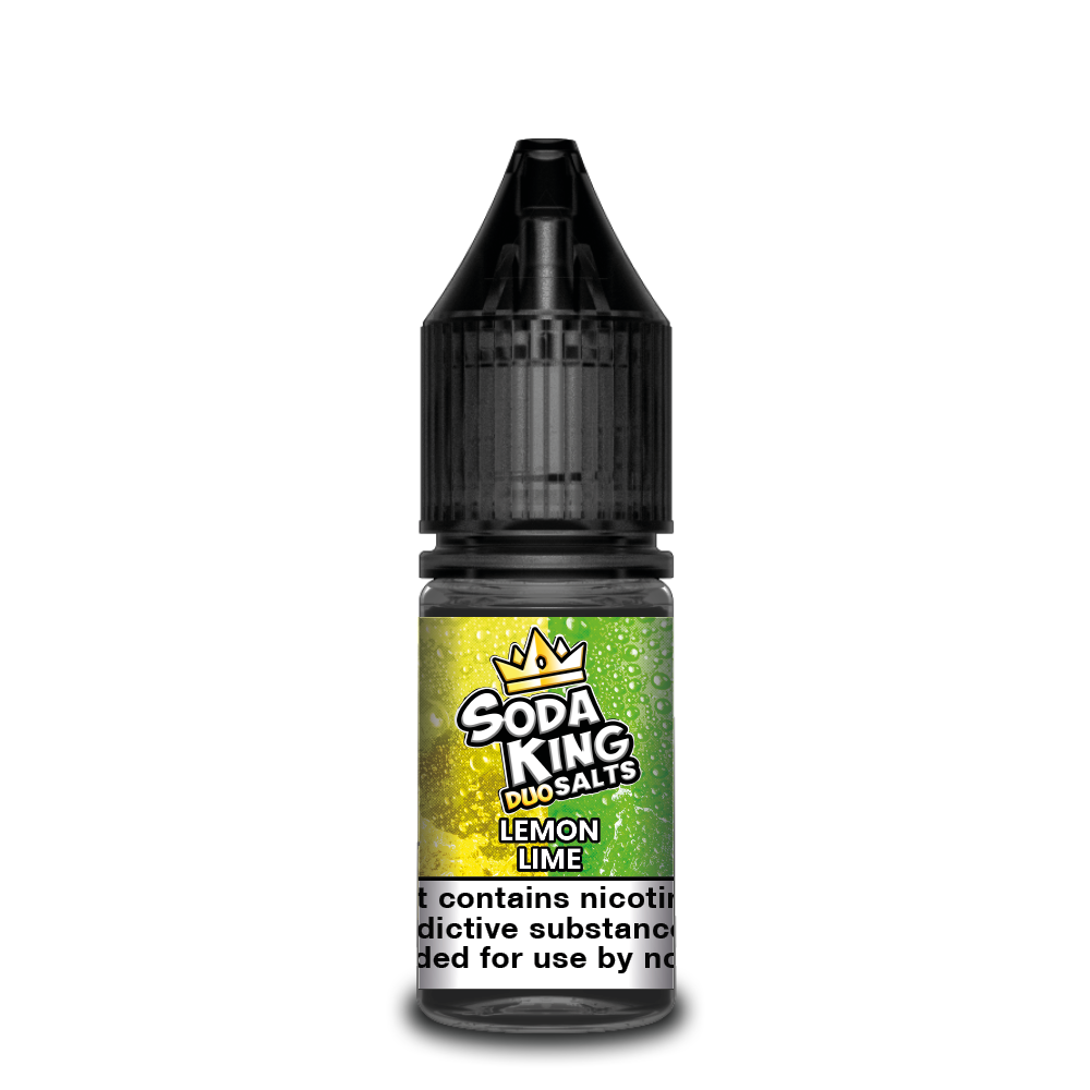 Soda king duo Nicotine salts £3.99 each or 3 for £10 (with discount code 3for10) - Lemon-lime