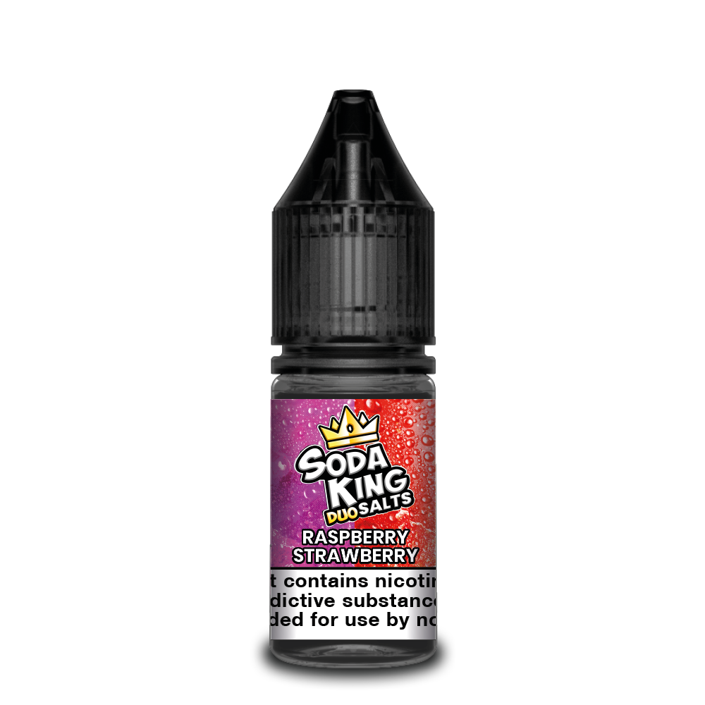 Soda king duo Nicotine salts £3.99 each or 3 for £10 (with discount code 3for10) - Apple-raspberry
