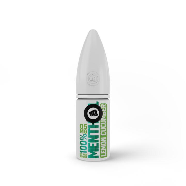 Riot Squad Nicotine Salts - Lemon-cucumber-menthol