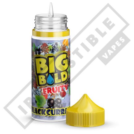 Big Bold Fruity 100mls - Blackcurrant