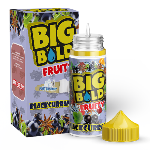 Big Bold Fruity 100mls - Lychee-cream