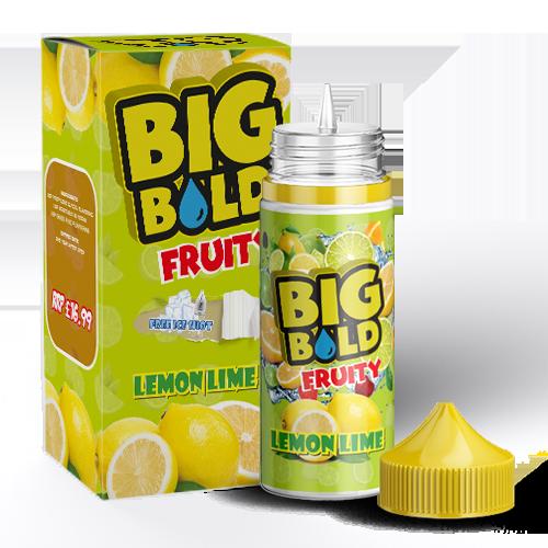 Big Bold Fruity 100mls - Lemon-lime