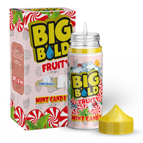 Big Bold Fruity 100mls - Mint-candy