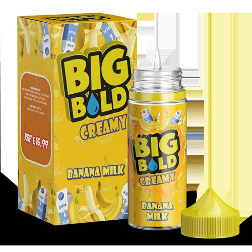 BIG BOLD Creamy 100ml - Banana-milk