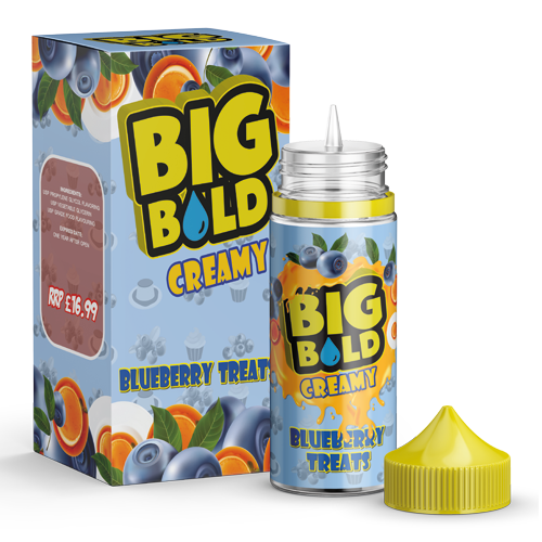 BIG BOLD Creamy 100ml - Blueberry-treats
