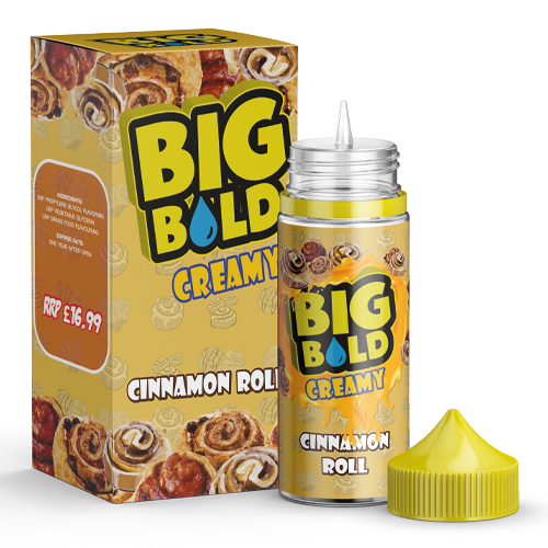 BIG BOLD Creamy 100ml - Cinnamon-roll