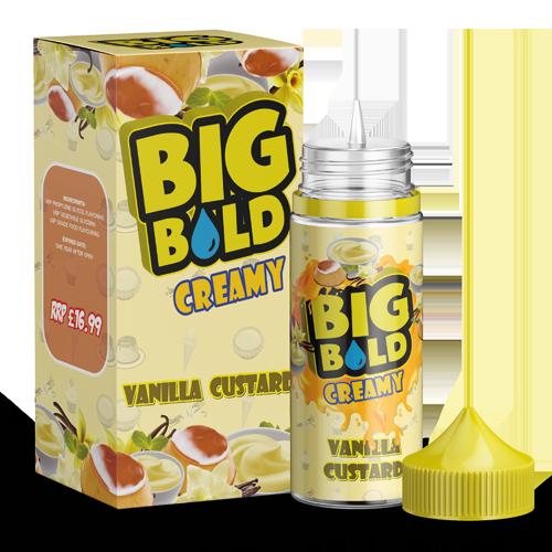 BIG BOLD Creamy 100ml - Vanilla-custard-2