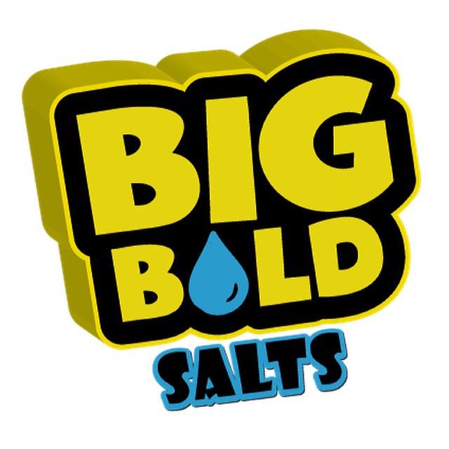 BIG BOLD NIC SALTS 10mg & 20mg - Cola-cooler